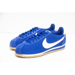 Nike Mens Classic Cortez Nylon Gym Blue 807472 405